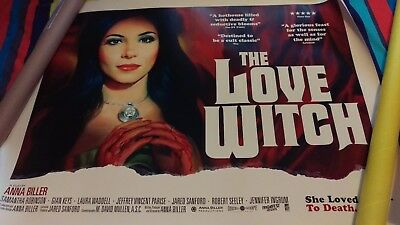 the love witch cinema quad poster 2017