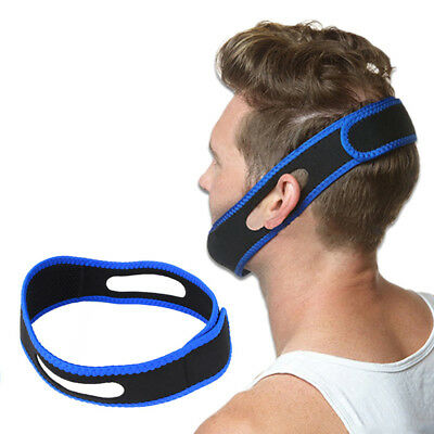 Anti Snore Sleep Apnea Stop Snoring Belt Jaw Solution Chin Support For Women Men