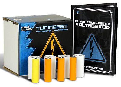 Blasterparts Tuning Set für Nerf N-Strike Hyperfire (Voltage Mod)