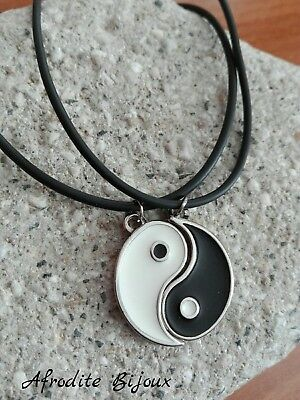 Collana Divisibile Yin /& Yang Fidanzati Coppia Best Friends Idea Regalo Glamour