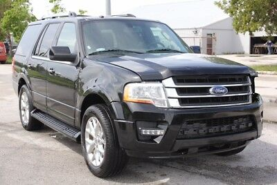2017 Ford Expedition  2017 Ford Expedition Limited CLEAN TITLE  Runs&Drives Rebuilder Repairable Fixer