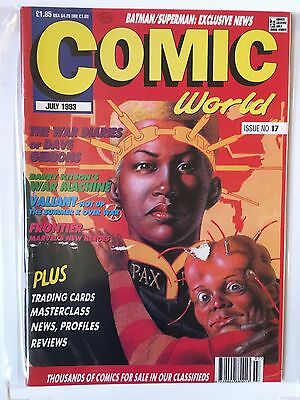 COMIC COLLECTOR Issue No 17 JULY 1993 UK Comic Magazine
