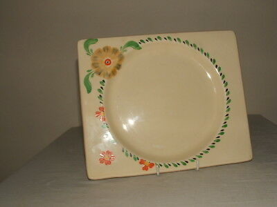 Clarice Cliff Art Deco Bizarre Biarritz Floral Dinner Plate Truly Stunning