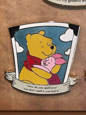 Love Is An Adventure Quotable Winnie the Pooh LE 300 Pin Disney Pin