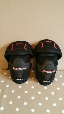 CCM 110 RBZ ICE HOCKEY ELBOW PADS JUNIOR up to 11yrs old