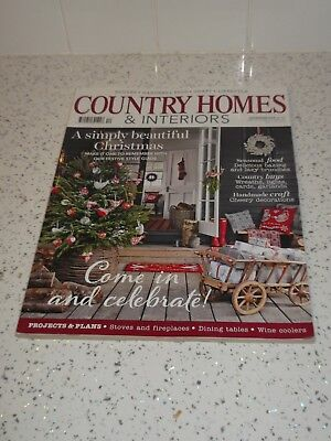 Country Homes & Interiors Magazine Christmas Issue December 2013