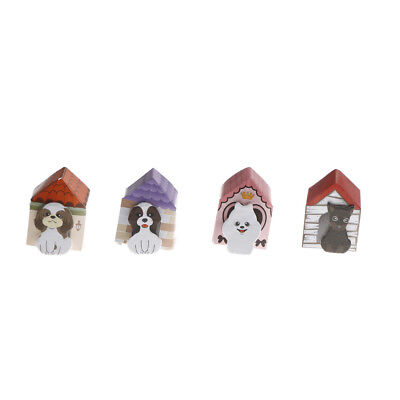 1X Funny Puppy House It Dog Sticker Post Bookmark Mark Memo Sticky Note Fad