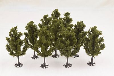 Tall Yew Tree 100mm Pack of 10 by WWS – Scenery Terrain Landscape Railways