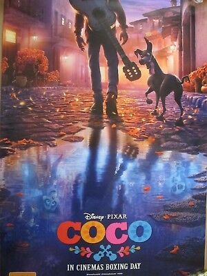COCO - one sheet movie poster