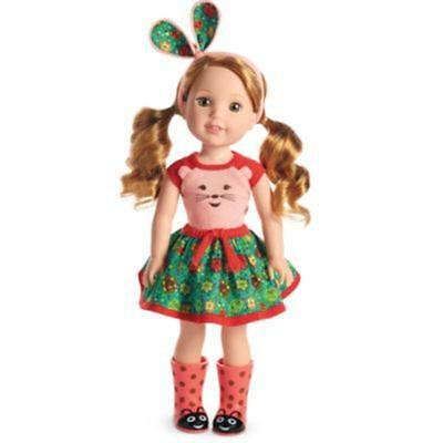 American Girl Wellie Wishers - Willa Doll - New in Box - Free DHL Express