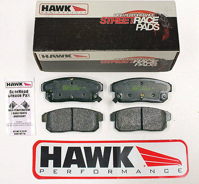 Mazda RX8 Rear Fast Road/Track Day Hawk HP Street Race Brake Pads