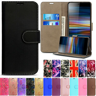 Case For Sony Xperia 10 X XZ3 XZ Magnetic Flip Leather Wallet Stand Phone Cover