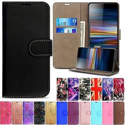 Case For Sony Xperia X XA2 XZ3 XZ Magnetic Flip Leather Wallet Stand Phone Cover