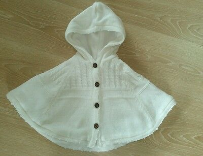 Poncho maille 6 mois