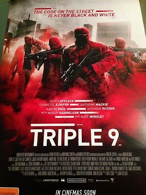 Triple 9 - one sheet movie poster