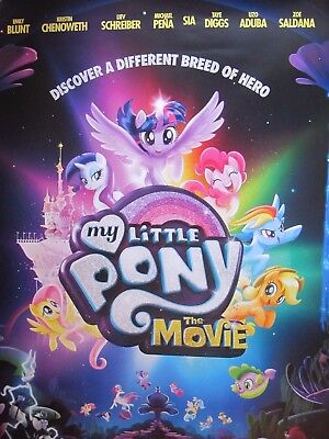 My little pony the movie - one sheet movie poster