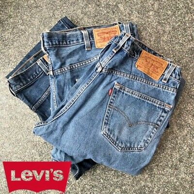 GRADE A LEVIS 550 JEANS LARGER SIZES Denim Vintage W36 W38 W40 W42 Relaxed 550s