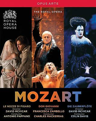 Mozart: Operas Box Set (The Royal Opera) [5 Blu-ray] [Blu-ray]