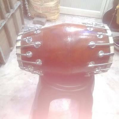 "best new sheesham dholak _wood""bolt fitting,dhollki nice sound best offer dhol"