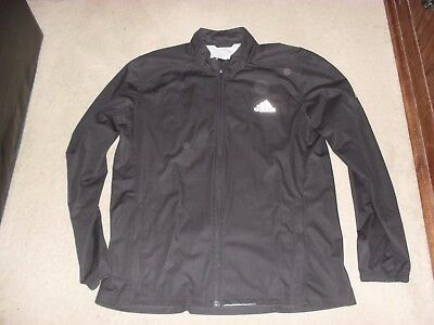 Men's Adidas climaproof running jacket worn once size L/XL