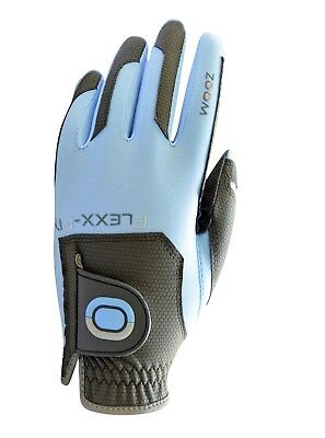 ZOOM Golfhandschuh WEATHER Herren Farbe: charcoal- light blue Rechtshänder