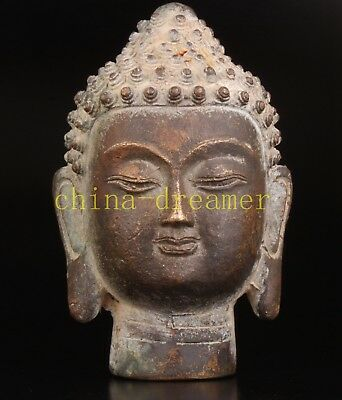 Bronze Statue Buddha Religion Crafts Gift Collectable