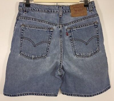 Levis Womens Jean Shorts Vintage 36951 Relaxed Fit High Waisted Size 10