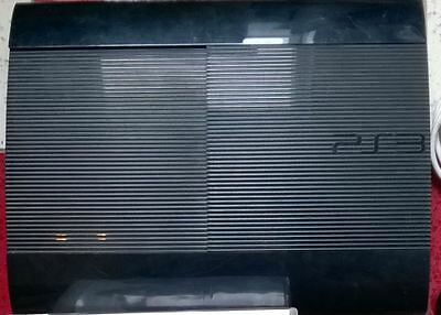 Sony PS3 SUPER SLIM 12GB solo Konsole Playstation 3 Ersatz schwarz Blu Ray