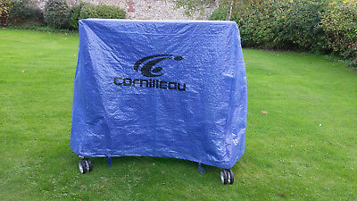 Cornilleau Outdoor 240 mat top table tennis table with cover