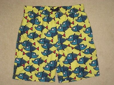 New ex M&S Marks & Spencer Boys Swimming Trunks Shorts 3-6 years star wars Fish