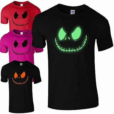 Smiling Jack Mens T-Shirt Spooky Scary Halloween Fancy Dress Gift Unisex Tee Top