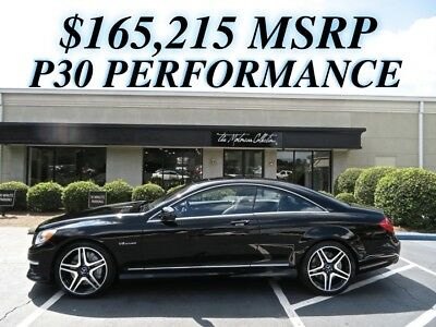 2012 Mercedes-Benz CL-Class CL63 AMG MSRP $165,215! P30 PERFORMANCE PACKAGE & PREMIUM PACKAGE. CLEAN CARFAX CERTIFIED