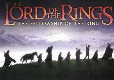Lord of Rings Fellowship Base Card Set 90 Cards