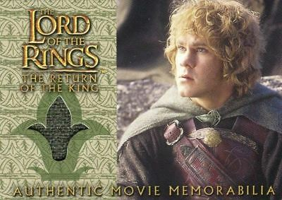 Lord of the Rings Return of King Merry's Rohan Cloak Costume Card