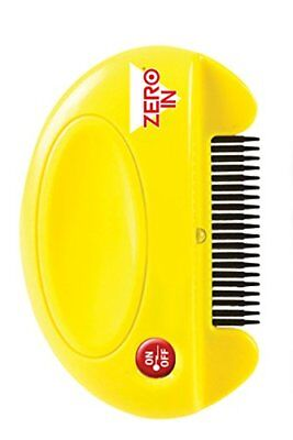Zero In Flea Killer Comb  Poison-Free, Battery Powered Flea and Tick Killer for