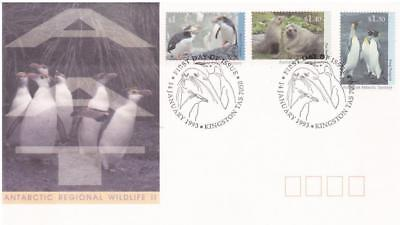 Australian Antarctic Territory AAT 1992 First Day Cover FDC-Regional Wildlife II