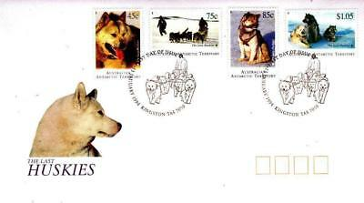 Australian Antarctic Territory AAT 1994 First Day Cover FDC - The Last Huskies