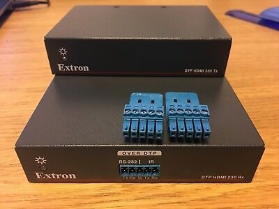 Extron DTP HDMI 4K 230 TX & RX 4K HD Over Twisted Pair Transmitter & Receiver