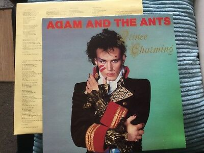 """Adam And The Ants Prince Charming Vinyl 12"""" (1981) LP Gatefold Cover CBS 85268"""