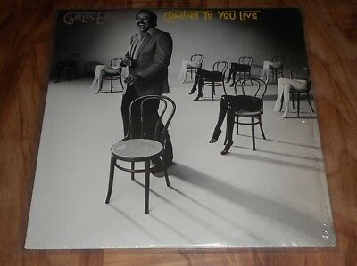 """Charles Earland """"coming To You Live"""" -1A -1G   Lp"""