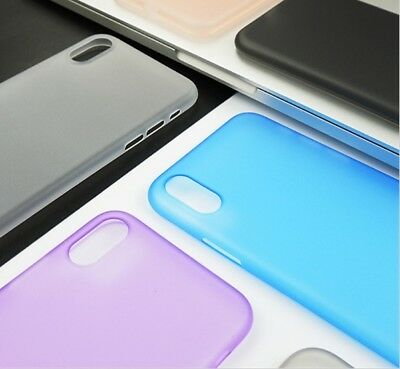 Per Apple Iphone X COVER ULTRA SOTTILE 0.3MM CUSTODIA BUMPER SLIM CASE THIN