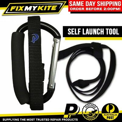 Kiteboarding Self Launch / Land Tool - Kitesurf Safety Accessory With Carabiner