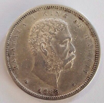 1883 Hawaiian Half Dollar