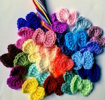 Pretty Bows Crocheted   Lucky Dip Pack  I Welcome Custom Orders  Embellisments