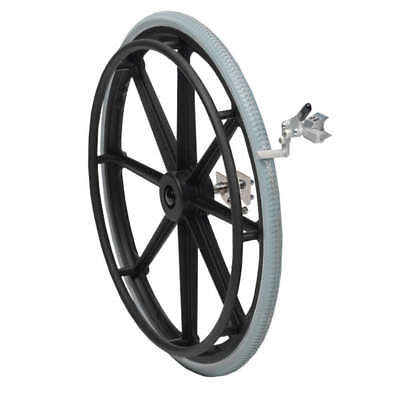 Self Propelling Wheel Conversion Kit for Adaptable Shower Commode Chair