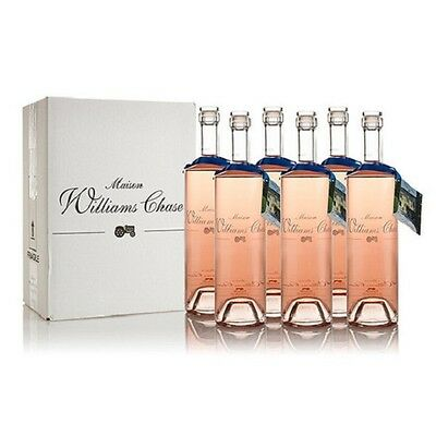 Wine Rose wine from the Provence Williams Chase 75cl x 6 bottles