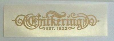 Chickering Piano Fallboard Decal