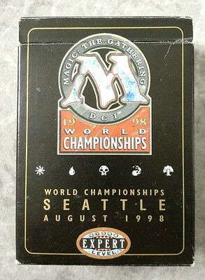 Magic the Gathering Brian Selden 1998 World Championship deck