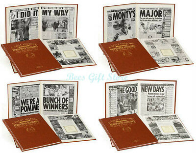 PERSONALISED Newspaper HISTORY BOOK of RUGBY League UNION Gifts For Fan CLUB