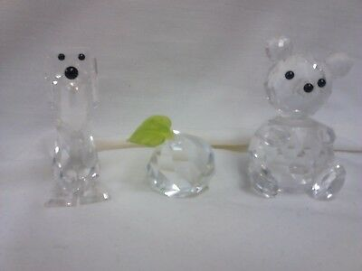 Swarovski Crystal Glass figures